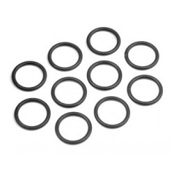 O-ring silikon 10x1.5mm (10)