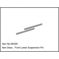 FRONT LOWER SUSPENSION PIN