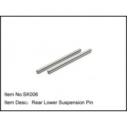 REAR LOWER SUSPENSION PIN