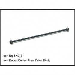 CENTER FRONT DRIVE SHAFT