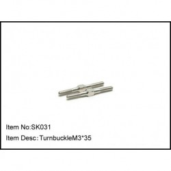 TURNBUCKLE M3*35
