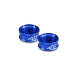 Jconcepts -Fin, VCS shock bottom cap - blue