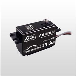AGF Wide Voltage 25T High Speed Brushless Servo 10-14.5kg