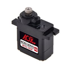AGF 11g Digital Mini Throttle Steering RC Servo 2.5kg Metal Gear