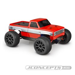 1982 GMC K10 Traxxas 1/16th E-Revo Body