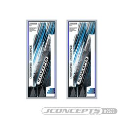 JConcepts - XRAY XB4 precut chassis protective sheet - striker graphics