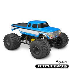 "1979 Ford F-250 SuperCab monster truck body  - (7"" width & 12.75"" wheelbase)"