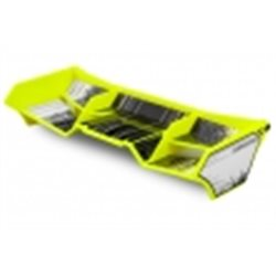 Finnisher - 1/8th buggy / truck wing, w/gurney options (yellow)