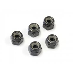 NYLON LOCK NUTS M4 x5.5 (5)