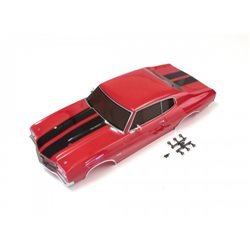 BODY SHELL SET FAZER CHEVELLE (CRANB RED)