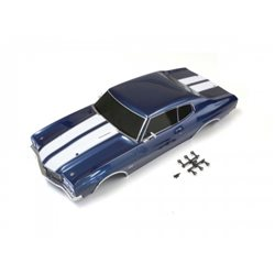BODY SHELL SET FAZER CHEVELLE (FATHOM BLUE)