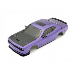 Body shell set 1:10 Fazer FZ02L Dodge Challenger - Purple