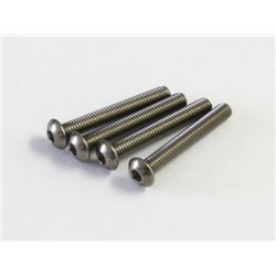 HEX TITAN BUTTON SCREWS 3X22MM (4)