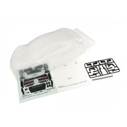 Clear Body Shell Audi R8 LMS 2015 1:10 (PureTen Size 200mm)