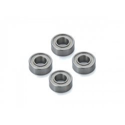 BALL BEARING 5X10X4MM. TEFLON SHIELD (4)