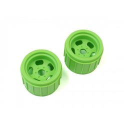 WHEELS FOR MAD CRUSHER (2) F GREEN