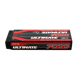 ULTIMATE GRAPHENE HV LiPo STICK 7000 7.6V 120C 5mm TUBES