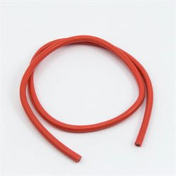10awg RED SILICONE WIRE (50cm)