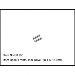 FRONT & REAR DRIVE PIN 1.60*8.0MM