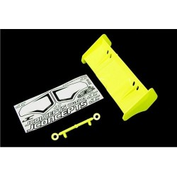Illuzion - 1/8th Buggy/Truggy wing (yellow)
