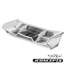 Illuzion - Finnisher - 1/8 buggy/ truck wing w/gurney options (white)