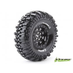 "Tire & Wheel CR-CHAMP 1.9"" Black (2)"