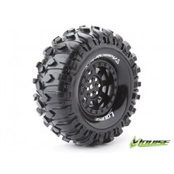"Tire & Wheel CR-ROWDY 1.9"" Black (2)"