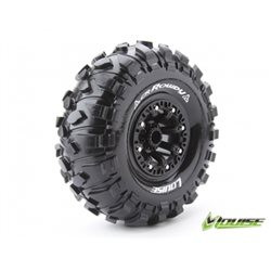 "Tire & Wheel CR-ROWDY 2,2"" Black (2)"