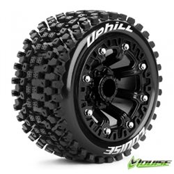 "Tire & Wheel ST-UPHILL 2,2"" Black Soft (2)"