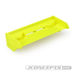 JConcepts - F2I 1/8th buggy/truck wing - yellow