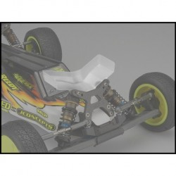 Jconcepts - Aero B6/B6D front wing, fits flat arm wide