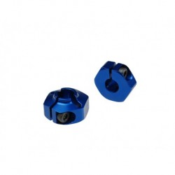 Jconcepts - 12mm rear hex adaptor fits B4.1/B44.1 Blue - 2pc