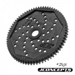 JConcepts - 48 pitch, 72T, SS Machined Spur Gear - fits B4.1, T4.1, B44.1 and SC10