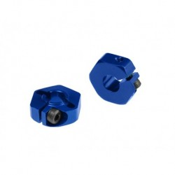 Jconcepts - 12mm front hex adaptor for B4.1 - Blue 2pc