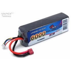 Li-Po Battery 3S 11,1V 6000mAh 50C T-Connector