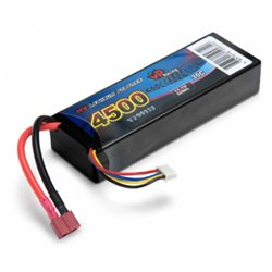 Li-Po Battery 3S 11,1V 4500mAh 35C Hard T-connector