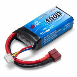 Li-Po Battery 3S 11,1V 1000mAh 25C T-Connector