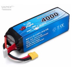 Li-Po Battery 6S 22,2V 4000mAh 25C XT60-Connector