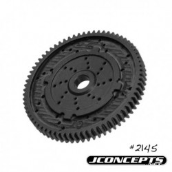 JConcepts - 48 pitch, 70T, SS Machined Spur Gear - fits TLR 22, 22-T and 22 SCT