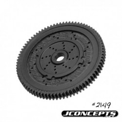 JConcepts - 48 pitch, 82T, SS Machined Spur Gear - fits TLR 22, 22-T and 22 SCT