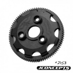 JConcepts - 48 pitch, 90T, SS Machined Spur Gear - fits Traxxas Slash