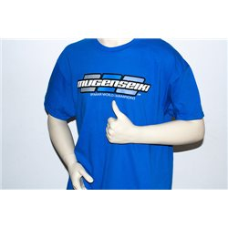 "Mugen Seiki Logo ""3dot"" T-Shirt Royal blue (L)"