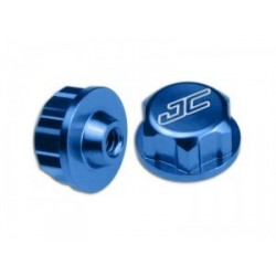 Jconcepts - Associated battery hold down thumb nut - blue 4pc