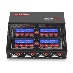 UltraPower UP240AC+ 240W 12A AC/DC Quad Charger