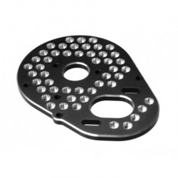 JConcepts - B4 aluminum rear motor mount - honeycomb - black