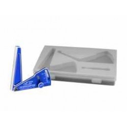 JConcepts - Aluminum camber gauge, 85mm  - blue