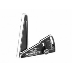 JConcepts - Aluminum camber gauge, 85mm  - black