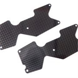 REAR LOWER ARM PLATE 1mm (CFRP) TRUGGY