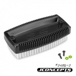 JConcepts - Wash brush w/ mounting screws - black