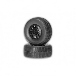 Subcultures SC- Green - black wheel 12mm hex SCT